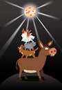 Cartoon: Disco King... (small) by berk-olgun tagged disco,king
