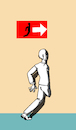 Cartoon: Exit... (small) by berk-olgun tagged exit