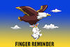 Cartoon: Finger Reminder... (small) by berk-olgun tagged finger,reminder