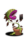 Cartoon: Food Selfie... (small) by berk-olgun tagged food,selfie