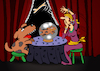 Cartoon: Fortune Teller... (small) by berk-olgun tagged fortune,teller