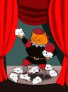 Cartoon: Hamlet the Cat... (small) by berk-olgun tagged hamlet,the,cat
