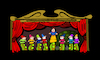 Cartoon: Hand Puppet Theatre... (small) by berk-olgun tagged hand,puppet,theatre