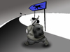 Cartoon: Hunter.. (small) by berk-olgun tagged hunter