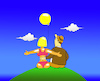 Cartoon: Inflatable Romanticism... (small) by berk-olgun tagged inflatable,romanticism