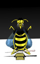 Cartoon: Japanese Wasp... (small) by berk-olgun tagged japanese,wasp