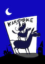 Cartoon: Karaoke... (small) by berk-olgun tagged karaoke