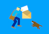 Cartoon: Mail... (small) by berk-olgun tagged mail