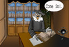 Cartoon: Nostradamus.. (small) by berk-olgun tagged nostradamus