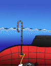 Cartoon: Ostrich Submarine... (small) by berk-olgun tagged ostrich,submarine