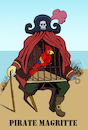 Cartoon: Pirate Magritte... (small) by berk-olgun tagged pirate,magritte