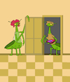 Cartoon: Pizza Mantis... (small) by berk-olgun tagged pizza,mantis