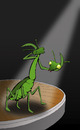 Cartoon: Praying Mantis... (small) by berk-olgun tagged praying,mantis