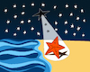Cartoon: Seastar.. (small) by berk-olgun tagged seastar
