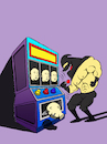 Cartoon: Slot Machine... (small) by berk-olgun tagged slot,machine