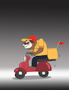 Cartoon: Sloth Delivery... (small) by berk-olgun tagged sloth,delivery
