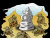 Cartoon: Stone Sculpture... (small) by berk-olgun tagged stone,sculpture