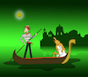 Cartoon: The Green Moon... (small) by berk-olgun tagged the,green,moon