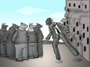 Cartoon: The Invisible Man.. (small) by berk-olgun tagged the,invisible,man