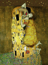 Cartoon: The Kiss.. (small) by berk-olgun tagged the kiss