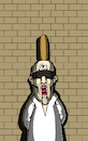 Cartoon: Third Eye execution... (small) by berk-olgun tagged third,eye,execution