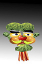 Cartoon: Vegetable man.. (small) by berk-olgun tagged vegetable man