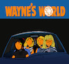 Cartoon: Waynes World... (small) by berk-olgun tagged waynes,world