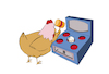 Cartoon: Whack a Mole... (small) by berk-olgun tagged kfc