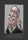 Cartoon: GABRIEL  GARCIA  MARQUEZ (small) by Marian Avramescu tagged mmm