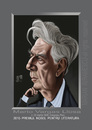 Cartoon: MARIO  VARGAS LLOSA (small) by Marian Avramescu tagged mmm
