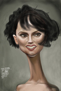 Cartoon: Natalie Portman (small) by Marian Avramescu tagged mmm