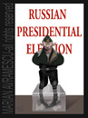 Cartoon: russian presidential election (small) by Marian Avramescu tagged mmmmmmmmmmmm