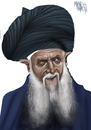 Cartoon: SEYH NAZIM (small) by Marian Avramescu tagged mmmmmmmmmmmmmmmmmmm