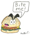 Cartoon: Angry Whopper (small) by m-crackaz tagged burger,king,angry,whopper