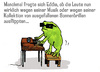 Cartoon: frog on stage (small) by jenapaul tagged frog piano frosch humor satire musik music
