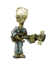 Cartoon: STING (small) by jenapaul tagged sting,musicians,portrait,music