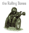 Cartoon: the rolling bones (small) by jenapaul tagged rollingstones band musik keith richards rock