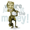 Cartoon: we are only in it for the money (small) by jenapaul tagged mick,jagger,rolling,stones,humor,music,rock