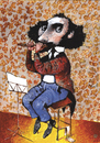 Cartoon: Flute (small) by Wiejacki tagged music,orchestra,flute