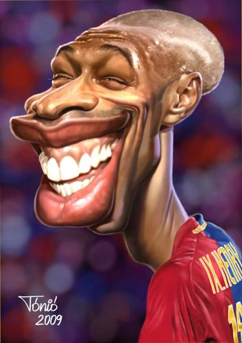 funny pictures barcelona. Thierry Henry FC Barcelona de