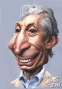 Cartoon: Charlie Watts The Rolling Stones (small) by Tonio tagged rock,music,drummer,english