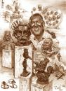 Cartoon: Dr.Laslo Csiky carica.sculpturer (small) by Tonio tagged caricature,after,photo,sculpture,portrait