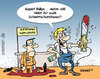 Cartoon: Dumm gelaufen... (small) by svenner tagged comic,cartoon,fun