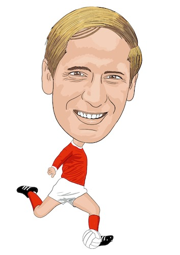 Cartoon: Charlton Manchester United (medium) by Vandersart tagged manchester,united,cartoons,caricatures