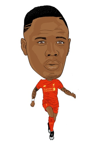 Cartoon: Clyne Liverpool 2 (medium) by Vandersart tagged liverpool,cartoons,caricatures
