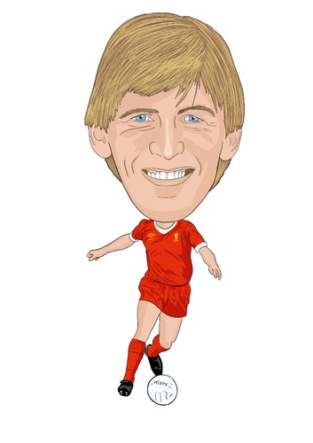 Cartoon: Dalglish Liverpool Legend (medium) by Vandersart tagged liverpool,cartoons,caricatures