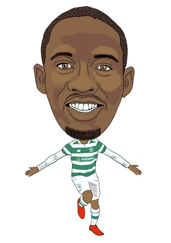 Cartoon: Dembele Celtic (medium) by Vandersart tagged celtic,cartoons,caricatures