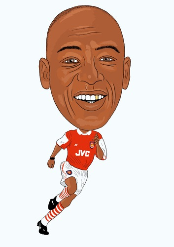 Cartoon: Wright Arsenal Legend (medium) by Vandersart tagged arsenal,cartoons,caricatures