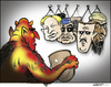 Cartoon: Many faces (small) by jeander tagged devil,norway,gadaffi,anders,behring,libya,breivik,gaddafi,al,asad,syria,ghadaffi,bin,laden,khadaffi