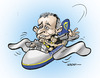 Cartoon: Michael O Leary (small) by jeander tagged michael,leary,airline,ryanair,air,flug